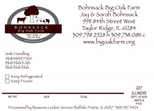 big oak farm beef label